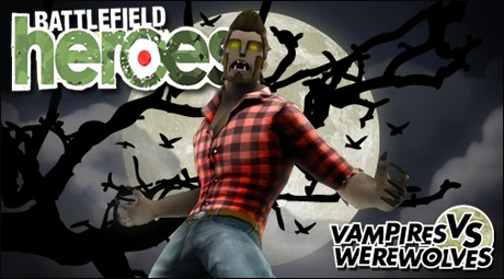 Battlefield Heroes Introduces Vampires and Werewolves to the